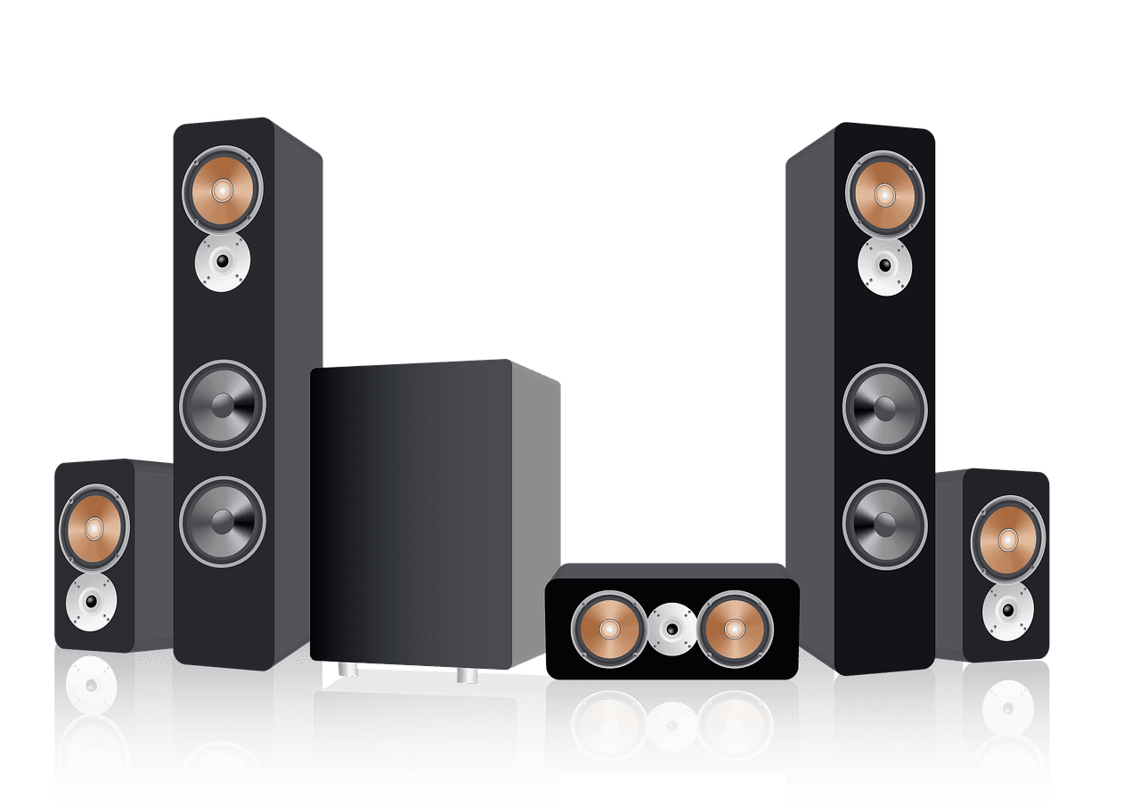How to set up speakers for 5.1 sound?