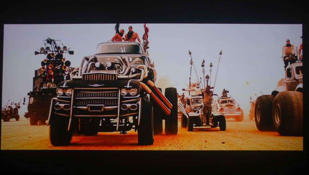 A scene from mad max fury roads